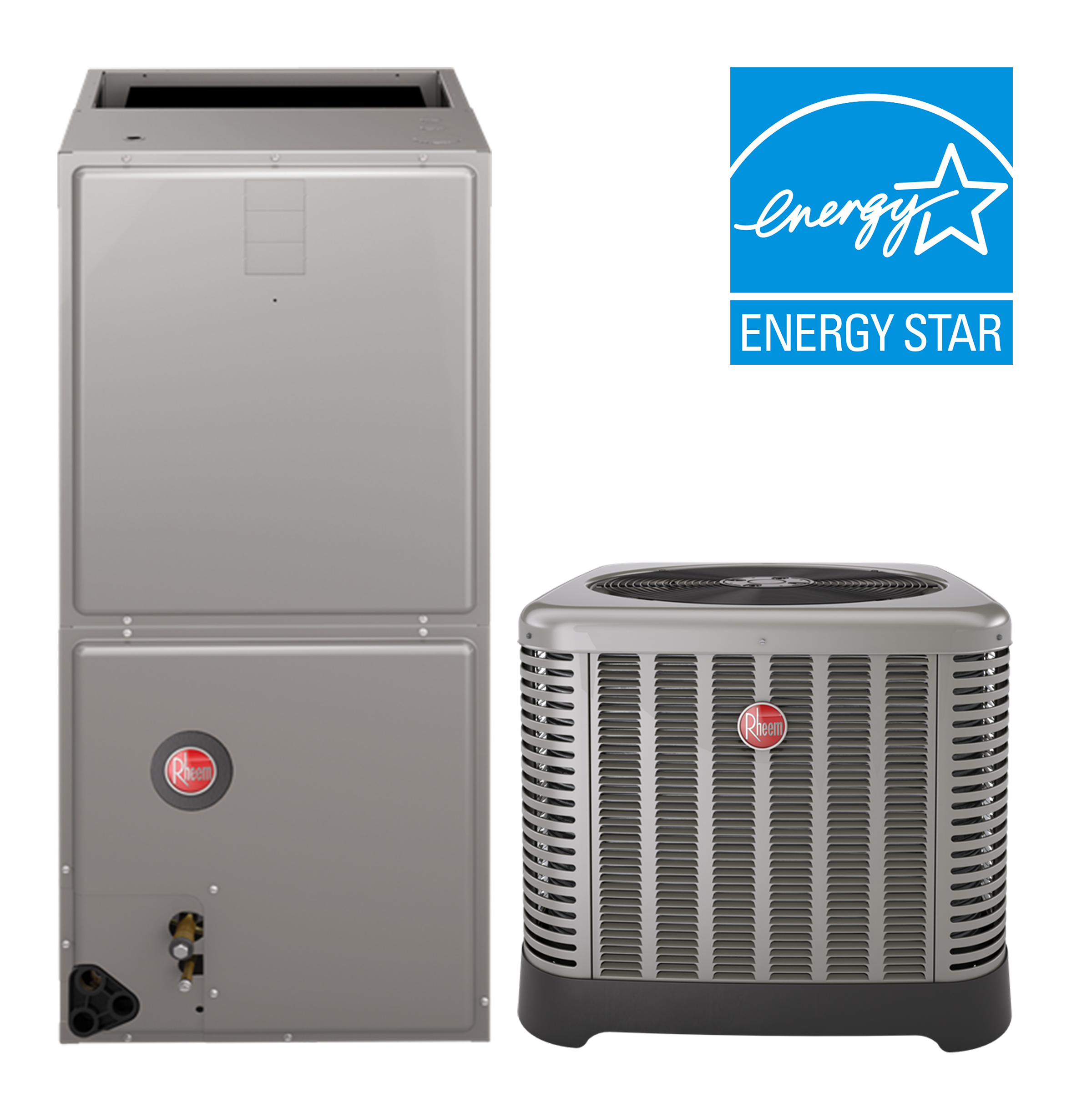 Rheem 2.5 Ton 16 SEER Air Conditioning System Cooling Only