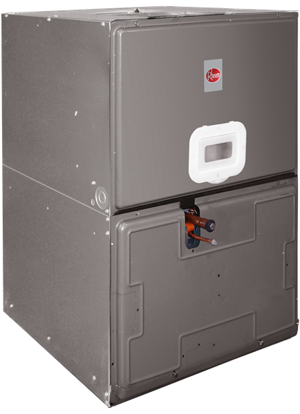 "Rheem 5.0 Ton High Efficiency 35"" Air Handler with 10 KW Built-in"