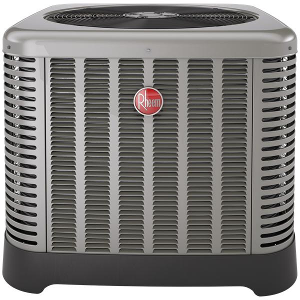 1.5 Ton AC Unit - Rheem 15 SEER Heat Pump Condenser - RP1518BJ1NA