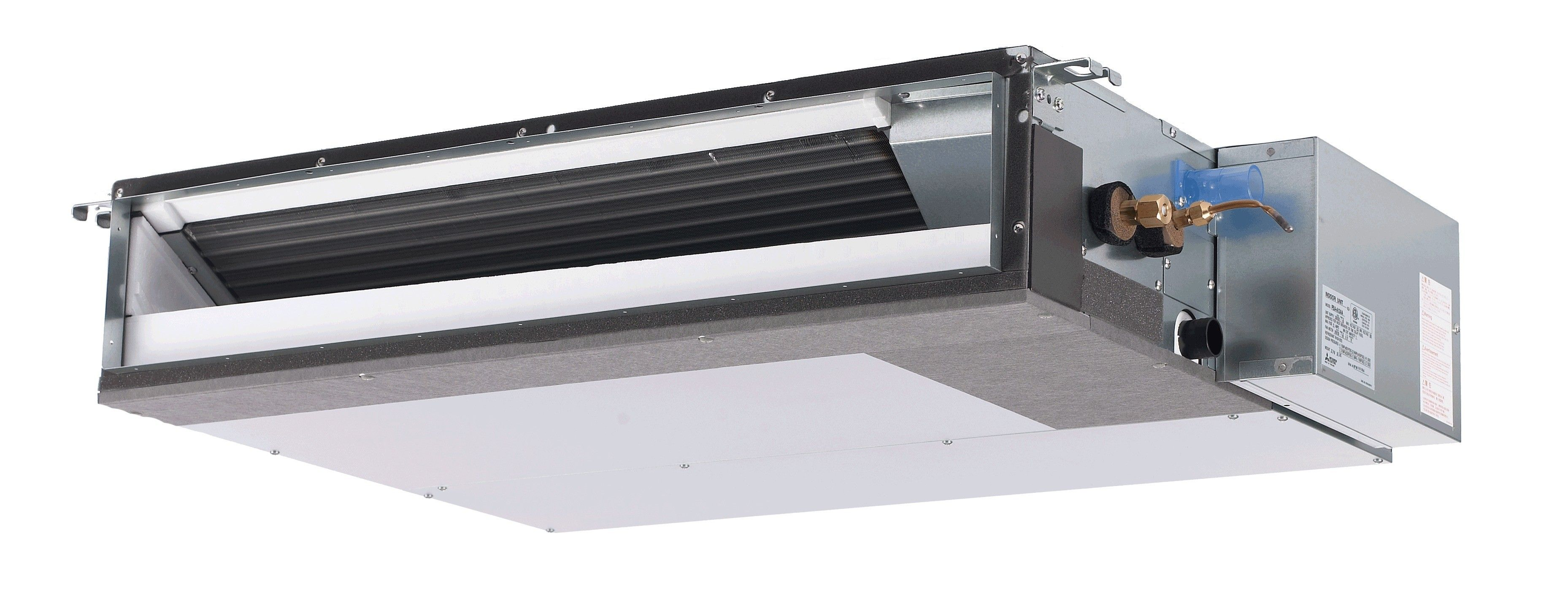 18K BTU Mitsubishi SEZKD Horizontal Ducted Heat Pump Indoor Unit