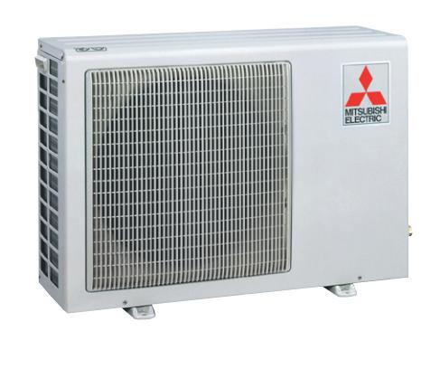 9K BTU Mitsubishi SUZKA Heat Pump Outdoor Unit