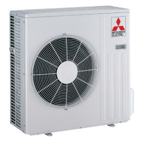 18K BTU Mitsubishi SUZKA  Heat Pump Outdoor Unit