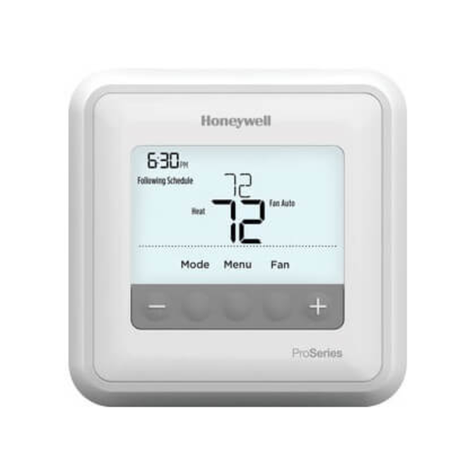 Honeywell PRO 4000 Programmable 5-2 Day Thermostat - 1C/1H
