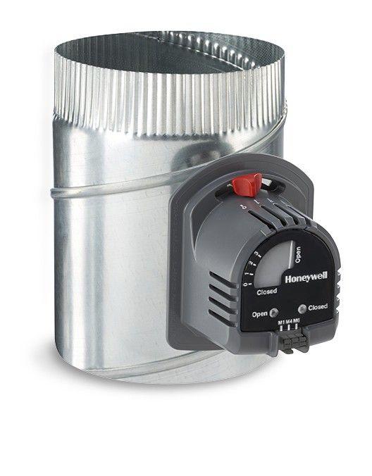 """Honeywell 8"""" Automatic Round Damper - ARD8TZ"""