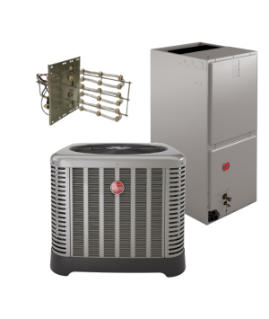 Rheem 15 SEER 1.5 Ton Heat Pump System