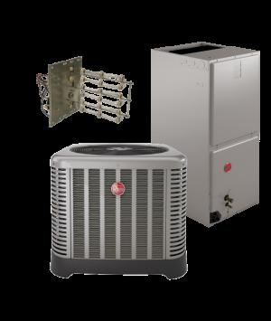 Rheem 15 SEER 4 Ton Heat Pump System