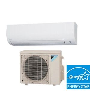 Mini Split AC Unit - Daikin 9,000 BTU Ductless Cooling Only AC System - 19 SEER