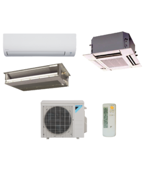 DAIKIN 24K BTU 3-Zone Enhanced Capacity (-13°) Heat Pump System