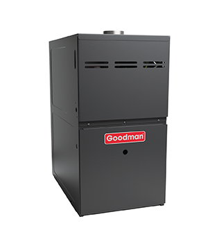 Goodman 80K BTU 80% Natural Gas Furnace Ultra Low Nox CA Only Upflow/Horizontal with 5 Ton Blower