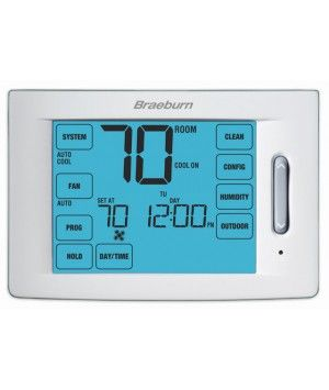 Braeburn Touchscreen 5/2 Programmable Thermostat