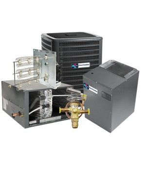 Direct Comfort 5.0 Ton 17 SEER Heat Pump Two Stage Variable Speed Split System - HORIZONTAL