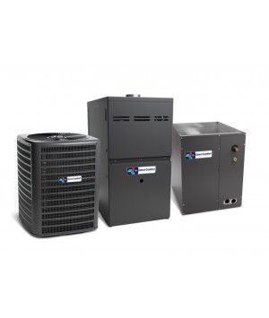 Direct Comfort 5.0 Ton 100K BTU 80% Natural Gas Furnace Two Stage Multi Speed Upflow