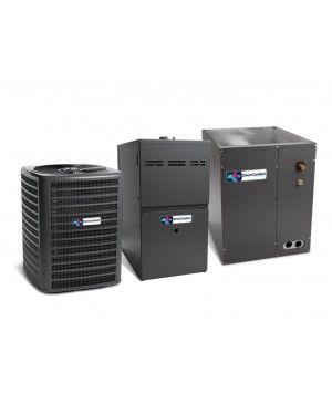 Direct Comfort 14 SEER 4.0 Ton 100K BTU 80% Efficient One Stage Gas Upflow System