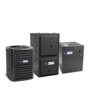 Direct Comfort 4.0 Ton 14 SEER  100K BTU 96% Single Stage Natural Gas System Upflow