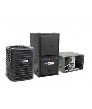 Direct Comfort 5.0 Ton 14 SEER 120K BTU 96% Single Stage Natural Gas System Horizontal