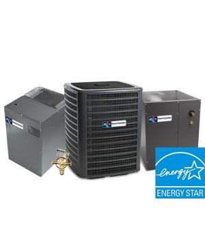 Direct Comfort 2.0 Ton 19 SEER Two Stage Cooling Only System Upflow with Variable Speed Blower Energy Star