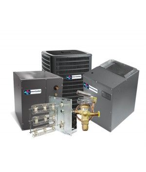 Direct Comfort 5.0 Ton 16 SEER Energy Star Two Stage Variable Speed Heat Pump System