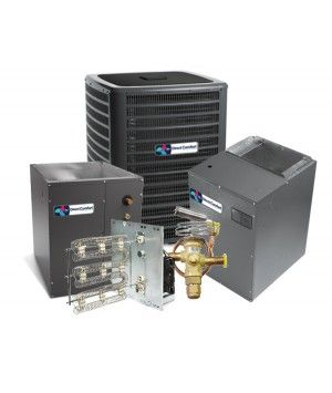 Direct Comfort 3.0 Ton 18 SEER Heat Pump Two Stage Variable Speed Split System - UPFLOW