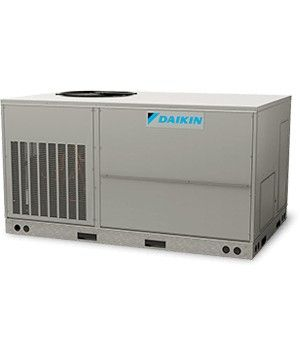 DAIKIN 10 T 11.3 EER Packaged Air Conditioners , Two Stage, Three-Phase 208V, R410A Multiposition