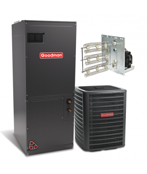 Goodman 2.5 Ton 15 SEER with Electric Heat Split System