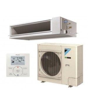 DAIKIN SkyAir 18K BTU 17.5 SEER Heat Pump Horizontal Ducted System - Commercial