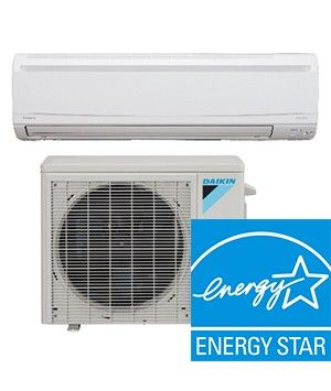 Daikin LV-Series 9K BTU 24.5 SEER Heat Pump System Energy Star