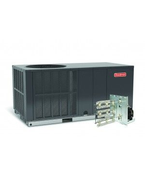 goodman ac unit. goodman 2.5 ton 14 seer electric heat package unit horizontal - gpc1430h41c ac d