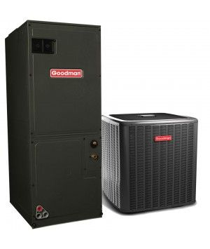 Goodman 4.0 Ton 17.5 SEER R-410a Two-Stage Air Conditioning System with Heat Pump