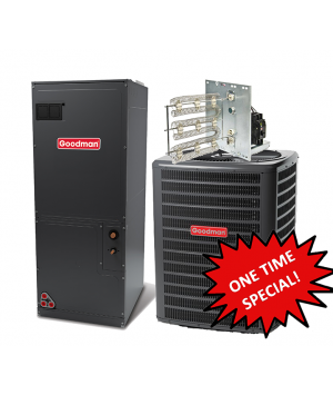 Goodman 3.0 Ton 14 SEER Heat Pump System **One Time Special**