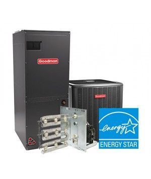 Goodman 2 Ton 18 SEER Heat Pump System Two Stage Energy Star
