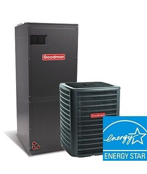 Goodman 2.0 Ton 16.5 SEER Two Stage Cooling Only System ENERGY STAR