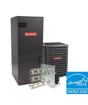 Goodman 3.0 Ton 17.5 SEER Electric Heat System Two Stage Energy Star
