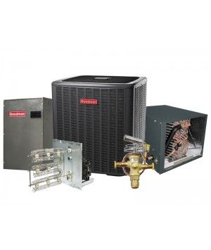 Goodman 3.0 Ton 18 SEER Heat Pump Two Stage Variable Speed Split System - HORIZONTAL