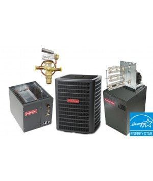 Goodman 5.0 Ton 16 SEER Heat Pump System STAR ENERGY