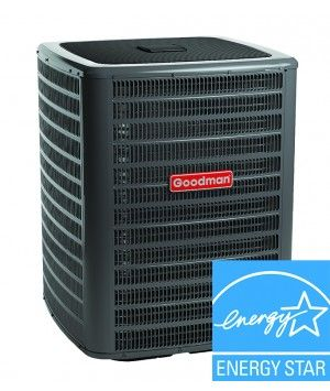 Goodman 3 Ton 16 SEER Heat Pump Condenser Two Stage Energy Star