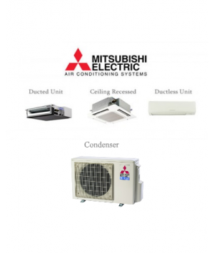 Mitsubishi P-Series 18,000 BTU Ductless Heat Pump Air Conditioner