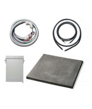 Installation Kit with Lineset for Ductless System (3-Zone)