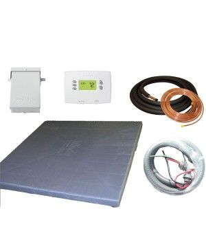 "Installation Kit with Lineset for Goodman and Rheem 3.0 - 5.0 Ton Systems with 1-1/8"" line"