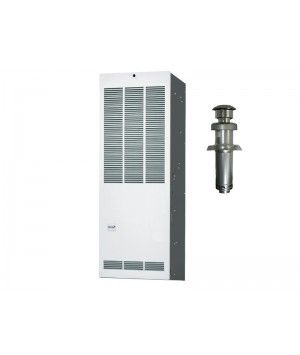 Revolv 70K BTU 80% Gas Furnace for Mobile Home Downflow without Coil Cabinet
