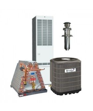 Revolv 2.0 Ton 14 SEER Gas System for Mobile Home Downflow