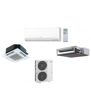 MXZ-8C48NA Split Air Conditioning and Heating 48K BTU Ductless Mini Split - Up To 8 Indoor Units