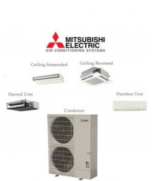 Mitsubishi P-Series 36K BTU Ductless Mini Split air conditioner