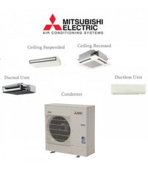 Mitsubishi P-Series 24K BTU Ductless Mini Split air conditioner