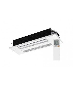 Mitsubishi 9K BTU One Way Ceiling Cassette Indoor Unit with Handheld Remote Controller and Grille