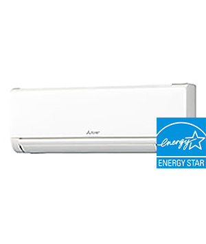 24K BTU Mitsubishi MSYGL Wall-Mounted Air Conditioner Indoor Unit