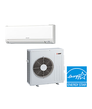 Mitsubishi 24K BTU 20.5 SEER Ductless Mini Split Cooling Only System