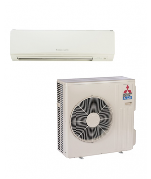Mitsubishi Mr. Slim 30,000 BTU Heat Pump Ductless Mini Split (14.5 SEER)
