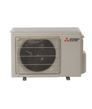 Mitsubishi 9K BTU 17 SEER 115V Heat Pump Condenser with Blue Fin anti-corrosion treatment