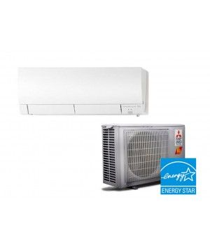 Mitsubishi 6,000 BTU Heat Pump Hyper Heat 33.1 SEER System