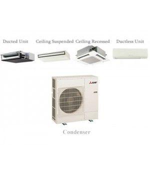 Mitsubishi P-Series 24,000 BTU Ductless Heat Pump Air Conditioner